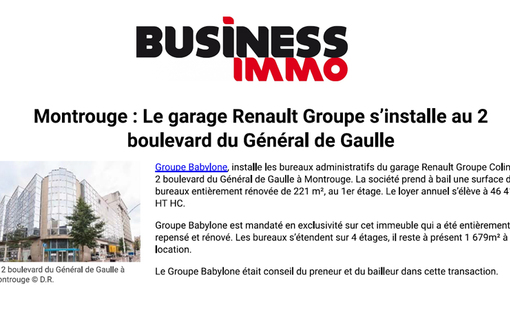 Business immo montrouge